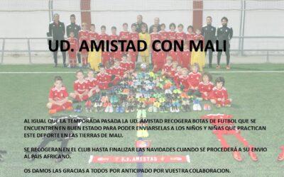 La UD Amistad, con Malí