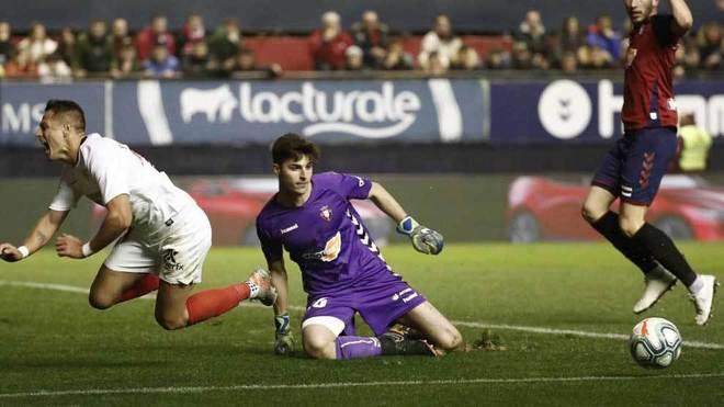 Juan Pérez, debuta en Primera División