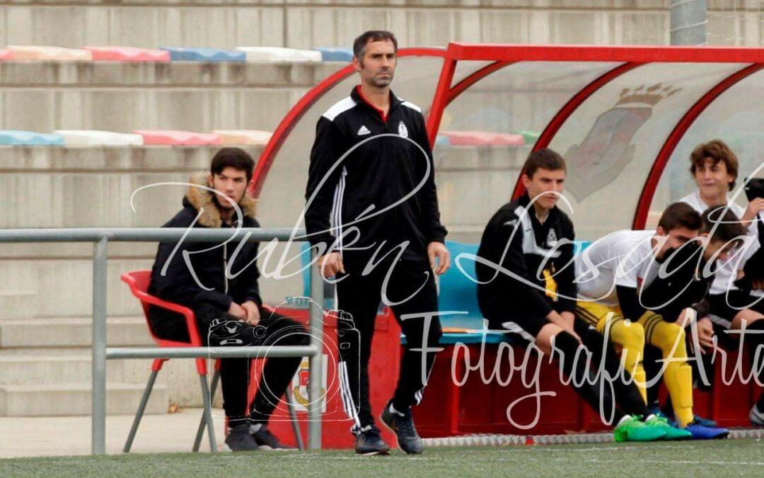 Entrevista a José Esquina, entrenador del Juvenil Preferente.