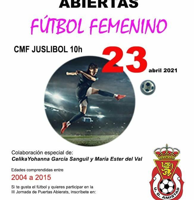 III Jornada Puertas Abiertas Fútbol Femenino