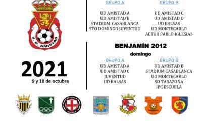 X Torneo Benjamín Amistad Juslibol